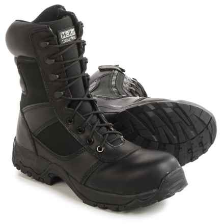 "McRae Industrial Work Boots - Composite Toe, 10"" (For Men) in Black - Closeouts"