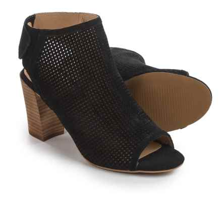 Me Too Adam Tucker Malena Bootie Sandals - Nubuck (For Women) in Black - Closeouts