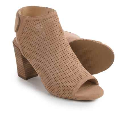 Me Too Adam Tucker Malena Bootie Sandals - Nubuck (For Women) in Cappuccino - Closeouts