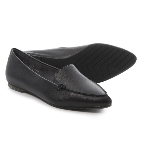 Me Too Audra1 Loafers - Leather (For Women) in Black Calf
