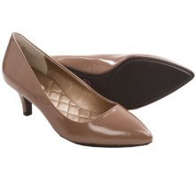 Me Too Celine 2 Pumps - Leather (For Women) in Praline Patent - Closeouts