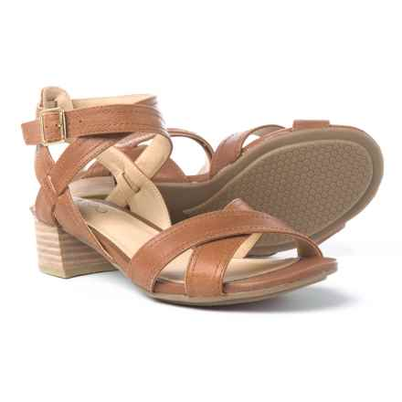 Me Too Mia Sandals - Leather (For Women) in Brown - Closeouts
