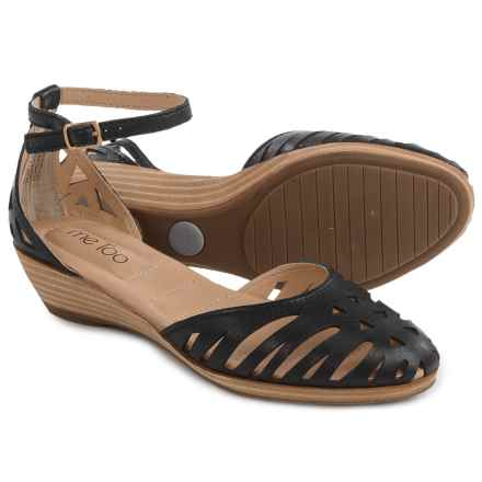 Me Too Nalani Shoes - Leather (For Women) in Black - Closeouts