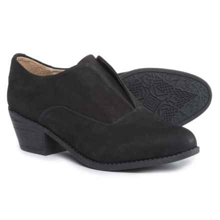 Me Too Zala Shoes - Nubuck (For Women) in Black - Closeouts