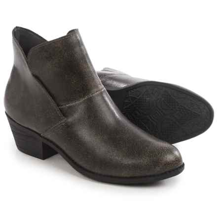 Me Too Zale Ankle Boots  (For Women) in Black Bomber - Closeouts