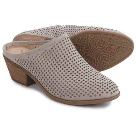 Me Too Zara Shoes - Leather, Slip-Ons (For Women) in Dove - Closeouts