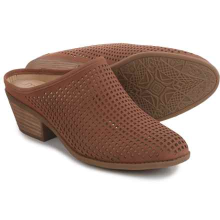 Me Too Zara Shoes - Leather, Slip-Ons (For Women) in Mahog - Closeouts