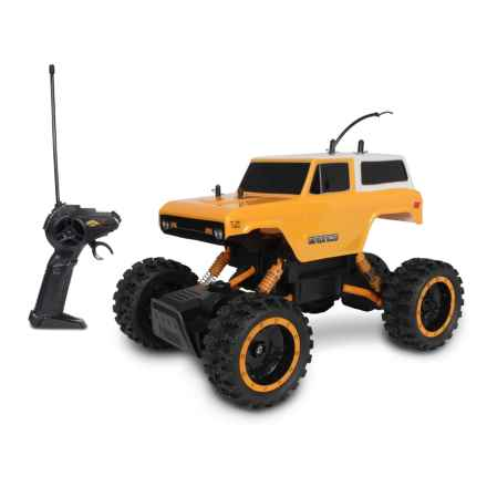 MEAN machines 1970 Ford Bronco Rock Crawler Remote-Controlled Truck in See Photo - Closeouts