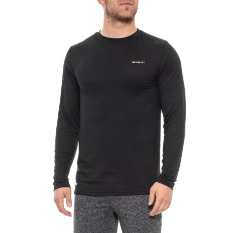2eb30684ab601 Medalist Comfort Stretch Base Layer Top - Long Sleeve (For Men) in Black
