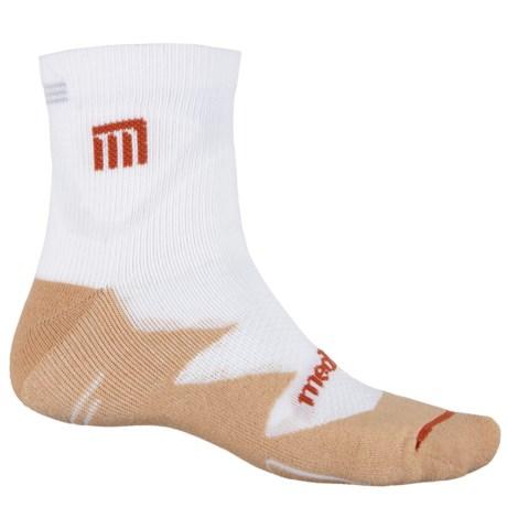 MEDICORE Sport Socks - Quarter Crew (For Men) in White