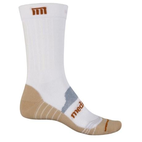 MEDICORE Work Socks - Crew (For Men) in 010 White