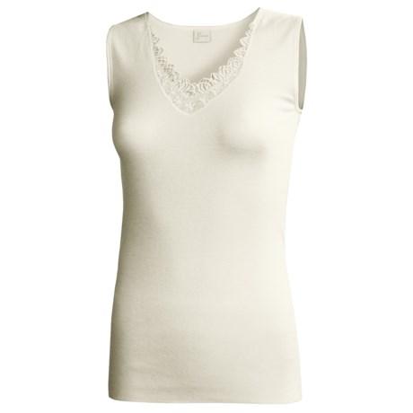Medima Camisole - Merino Wool-Angora (For Women) in White