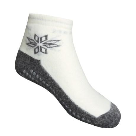 Medima Comfort Slipper Socks - Midweight, Wool-Angora (For Men and Women)