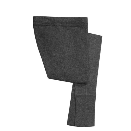Medima Merino Wool-Angora Long Underwear Bottoms - Lightweight, Wool (For Men) in Asphalt