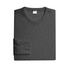 Medima Merino Wool-Angora Underwear Shirt - Lightweight, Long Sleeve (For Men) in Asphalt - Closeouts