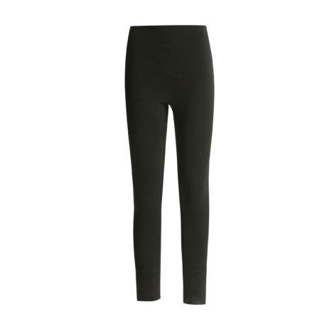 Medima Virgin Wool Lightweight Bottoms (For Women) in Black