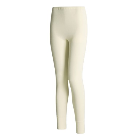 Medima Virgin Wool Lightweight Bottoms (For Women) in White