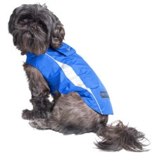 Mega Pet High-Visibility Dog Jacket in Blue - Closeouts