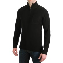Meister Brady Sleek Sweater - Zip Neck (For Men) in Black - Closeouts