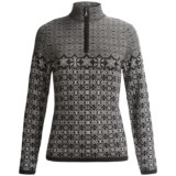 Meister Grace Sweater - Wool, Zip Neck (For Women)