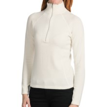 Meister Hayley Sweater - Wool Blend, Zip Neck (For Women) in Winter White - Closeouts