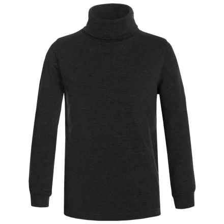 Meister Junior Base Layer Turtleneck - Long Sleeve (For Little and Big Kids) in Black - Closeouts