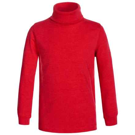 Meister Junior Base Layer Turtleneck - Long Sleeve (For Little and Big Kids) in Red - Closeouts