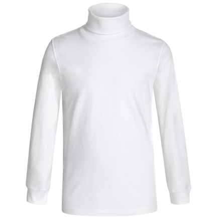Meister Junior Base Layer Turtleneck - Long Sleeve (For Little and Big Kids) in White - Closeouts