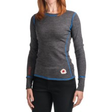 Meister Kiss Me Sweater - Stretch Merino Wool (For Women) in Charcoal/Alpine - Closeouts