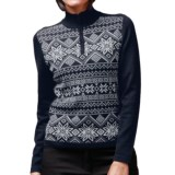Meister Lara Sweater - Wool Blend, Zip Neck (For Women)