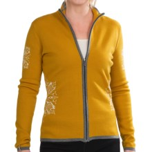 Meister Primrose Cardigan Sweater (For Women) in Mustard/White/Gray - Closeouts
