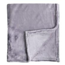 Melange Home Bliss Velvet Fleece Blanket - King in Amethyst - Closeouts