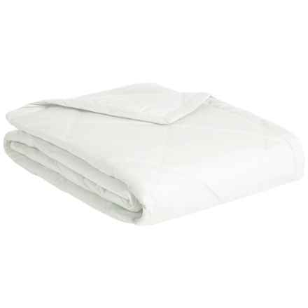 Melange Home Down Alternative Diamond Box Blanket - King, 233 TC in White - Closeouts