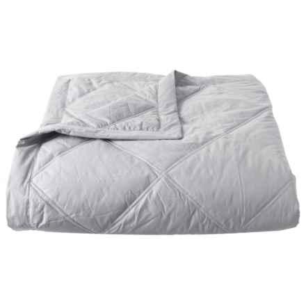 Melange Home Down-Alternative Grey Cloud Blanket - King, 233 TC in Cloud Grey - Closeouts