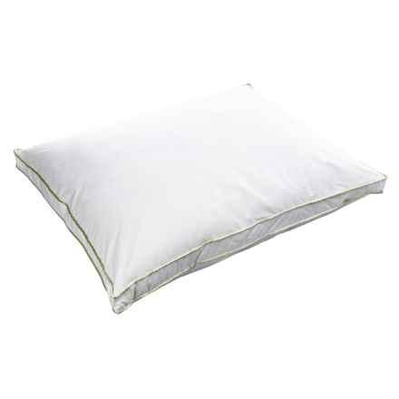 Melange Home Down Alternative Pillow - Oversized, Medium Firm in White - Overstock