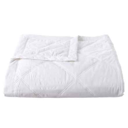 Melange Home Down-Alternative White Cloud Blanket - King, 233 TC in White - Closeouts