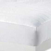 Melange Home Dream Mattress Pad - King, 230 TC in White - Overstock