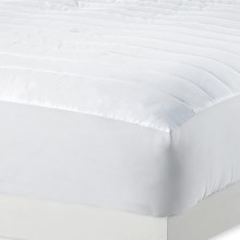 Melange Home Dream Mattress Pad - King, 230 TC in White - Overstock