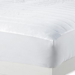 Melange Home Dream Mattress Pad - Queen, 230TC in White