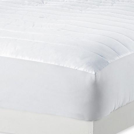 Melange Home Dream Mattress Pad - Queen, 230TC in White