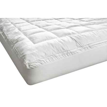 Melange Home Fashions Cloud Mattress Pad - Full in White - Overstock