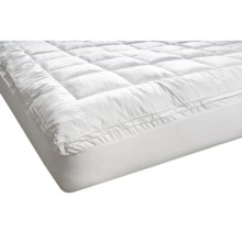 Melange Home Fashions Cloud Mattress Pad - King in White - Overstock