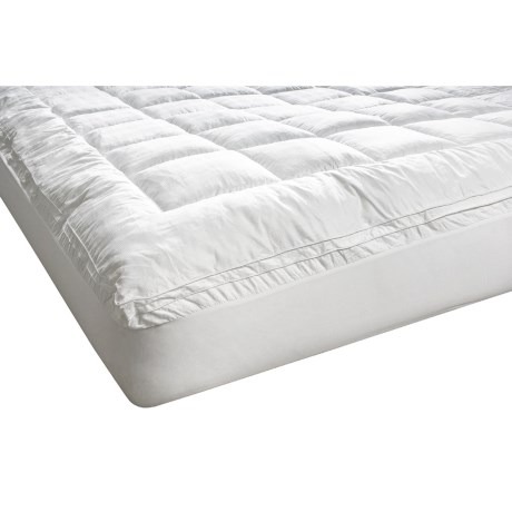 Melange Home Fashions Cloud Mattress Pad - King in White