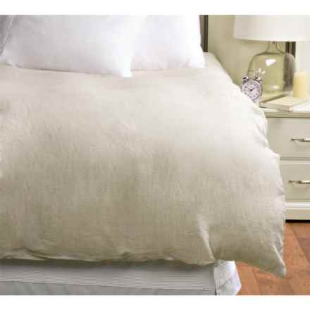 Melange Home Linen Duvet Cover - Full-Queen in Natural - Overstock