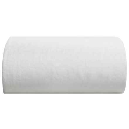 Melange Home Linen Fitted Sheet - King in White - Closeouts