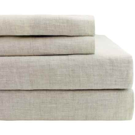 Melange Home Linen Sheet Set - Full in Natural - Closeouts