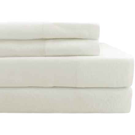 Melange Home Linen Sheet Set - Full in White - Closeouts