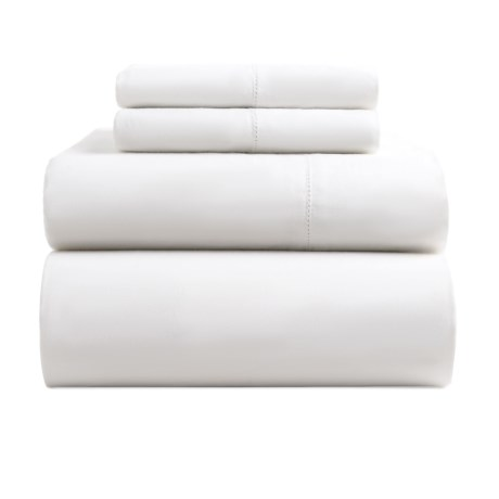 Image of Melange Home Organic Cotton Sheet Set - Queen, 400 TC