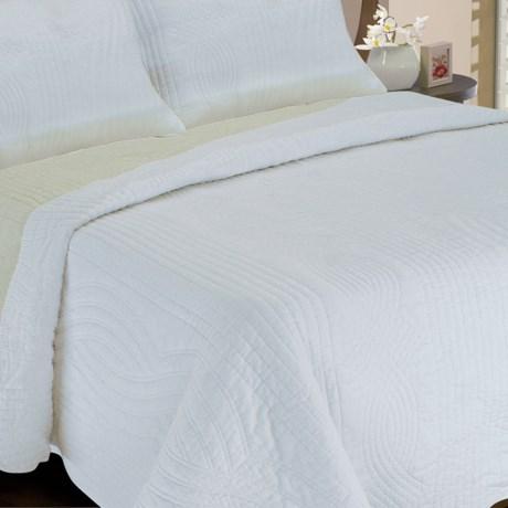 Melange Home Plaza Reversible Quilt - Full-Queen