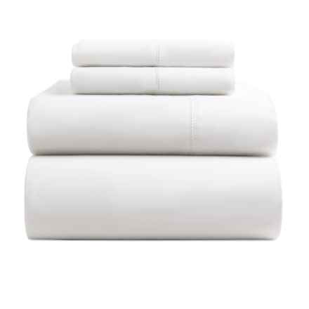 Melange Home Supima® Cotton Sheet Set - Queen, 400 TC in White - Closeouts